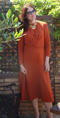 coser Vestido burda enero 2018 patron costura