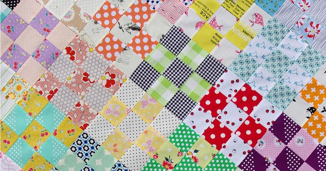 Red Pepper Quilts Nine Patch Checkerboard Quilt Tutorial