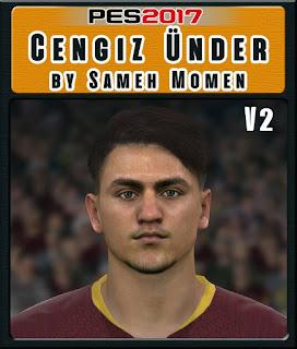 PES 2017 Faces Cengiz Ünder by Sameh Momen