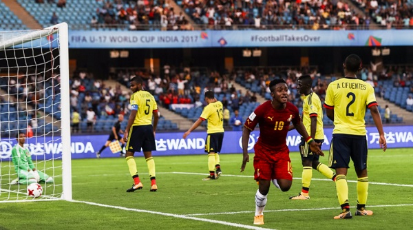 Under-17 World Cup: Ghana beat Colombia in first match