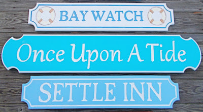 Coastal House Name Signs