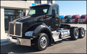 Certified Pre-Owned Kenworth T880 that will be at  the 2018 Mid-America Trucking Show