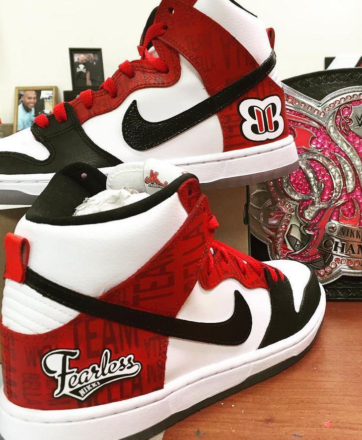 Nikki Bella Nike Shoes
