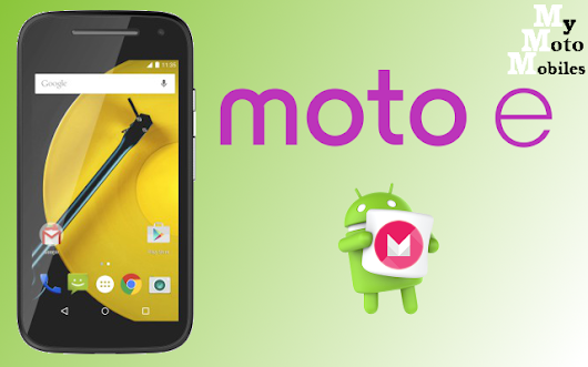 Moto E (2015, 2nd Gen, XT1521) now receiving Marshmallow 6.0 OTA update in India
