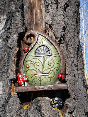 Fairy door at Hawkcliff Park
