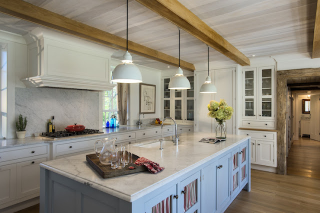 Decor Inspiration: 42 Modern Farmhouse Kitchens {Part 2