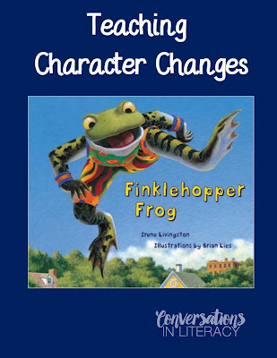 Books for Character Trait Changes and Development