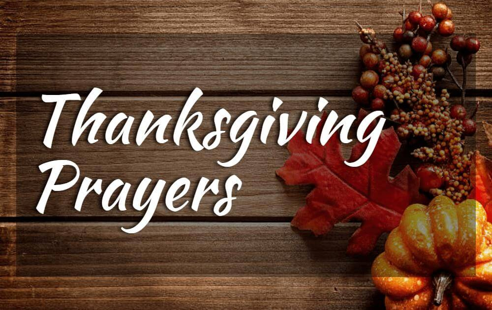 Beautiful & Inspiring Blessings Thanksgiving  Prayers
