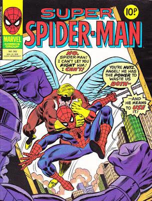 Super Spider-Man #302, the Angel