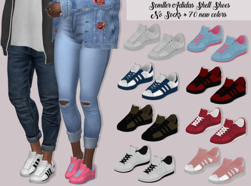 sims 4 adidas shoes
