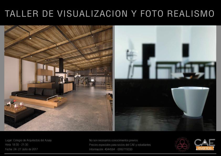 Patricio orellana el cuervo curso de fotorealismo en el for Cursos para arquitectos