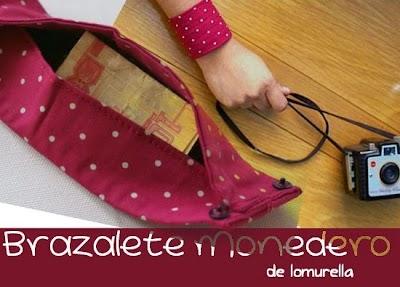 Como hacer un Brazalete-Monedero