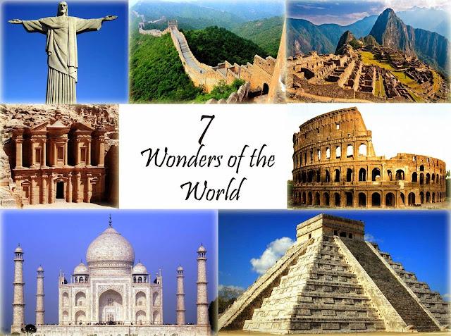 عجائب الدنيا السبع القديمة والجديده