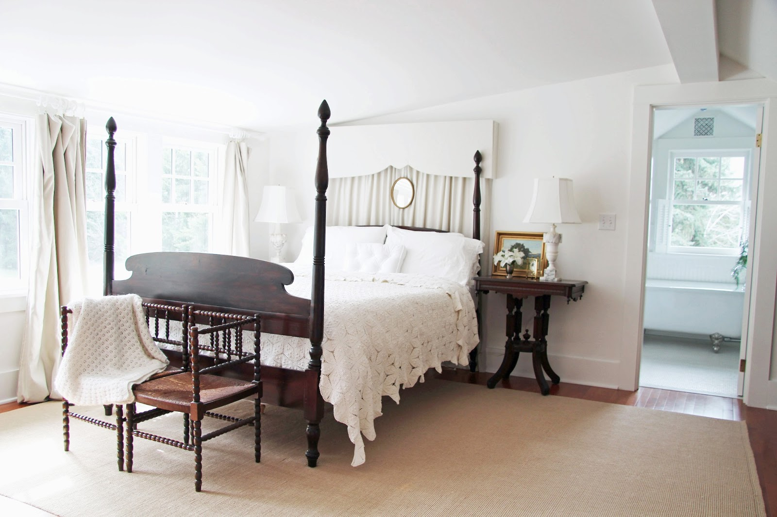 In The Fields Upstairs Master Bedroom