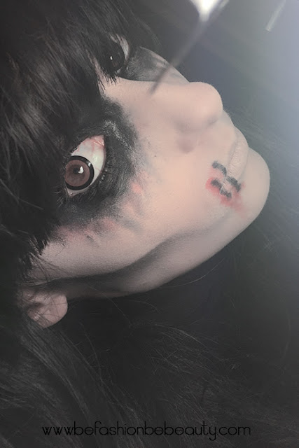 Mi primer... Maquillaje para Halloween.