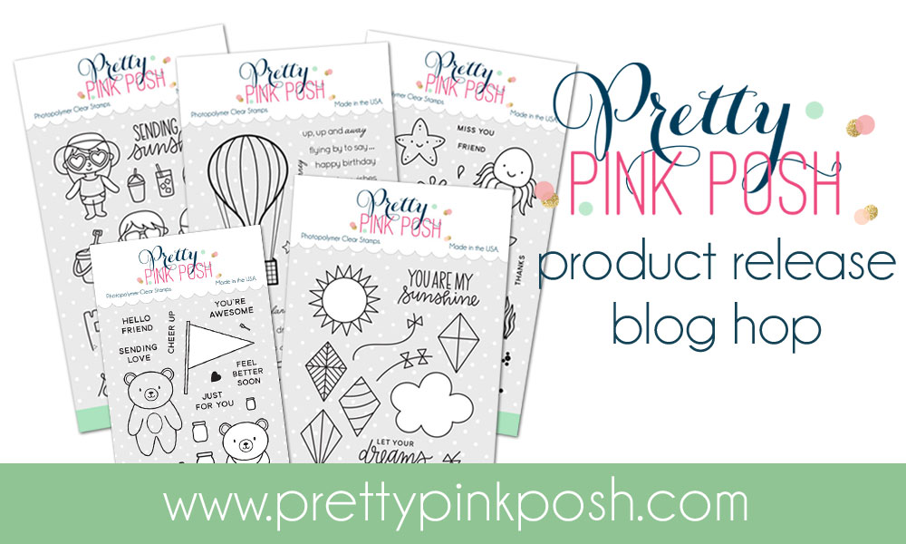 Delightful Hello Everyone, Welcome To The Pretty Pink Posh July 2017 Release Blog Hop!  If You Have Not Done So You Can Begin The Hop HERE. For This Project I Used  The ...