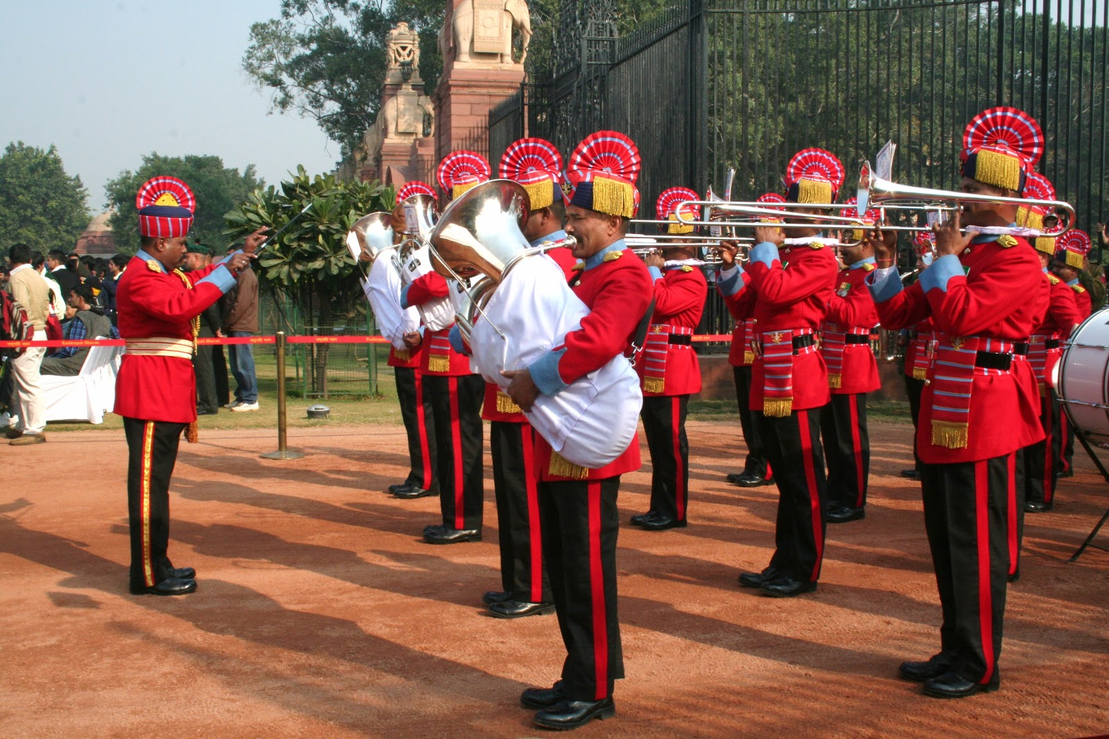 Indian military band
