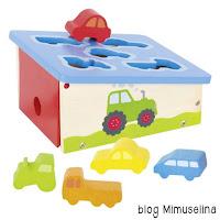 blog mimuselina ideas regalo bebé caja motricidad con coches