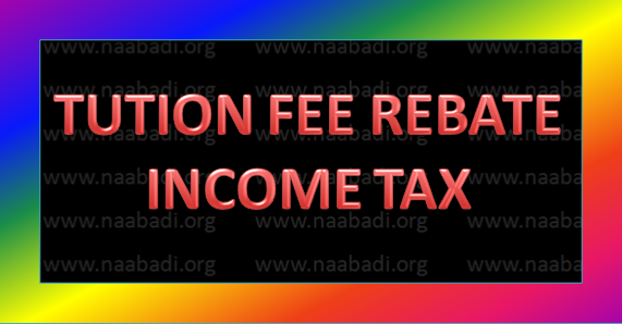 Children Tution Fee Certificate for Rebate Income Tax