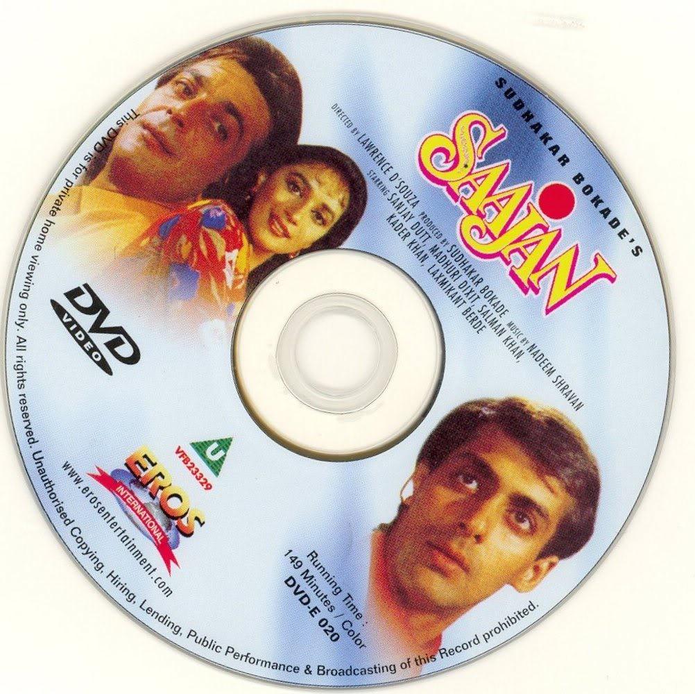 CINE HINDU: Saajan (1991