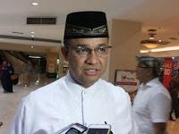 Anies: Solusi Banjir di Jakarta Bukan dari Gubernur