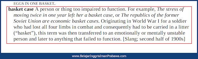 Arti Basket Case