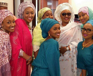 Aisha Buhari and daughters