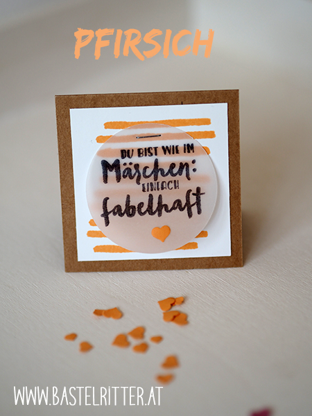 Stampin' up! In Color 2016-2018 Pfirsich