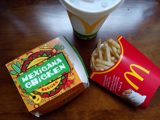 Mexicana Chicken Burger McDonald's