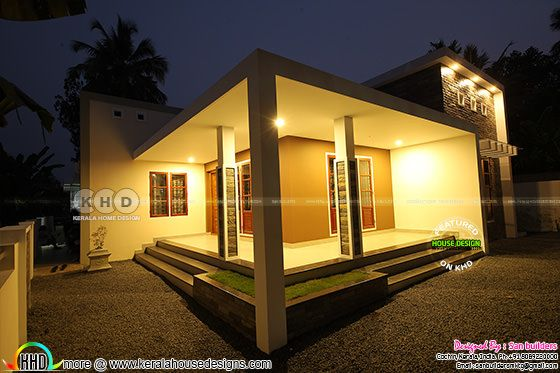 Single floor beautiful furnished Kerala home plan