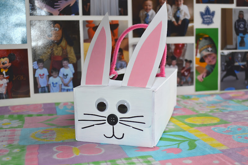 East Coast Mommy Tissue Box Easter Bunny Baskets