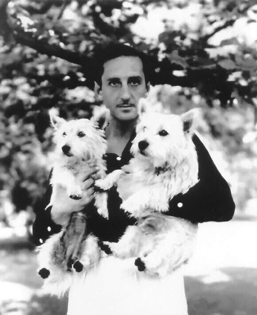 Basil Rathbone and Terriers