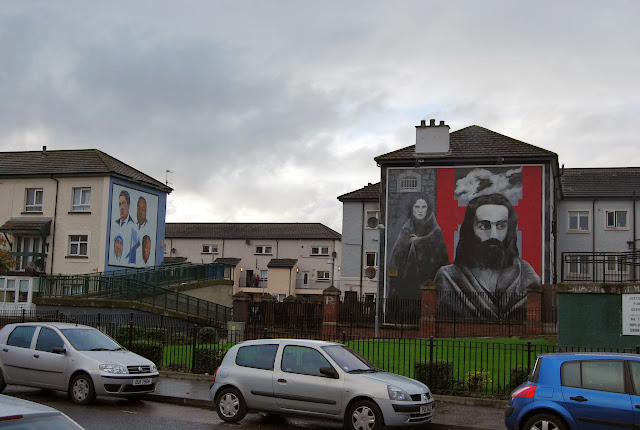 Murales domingo sangriento en Derry
