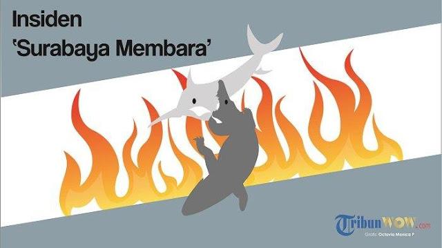 Berikut Kronologi Lengkap dan Dampak dari Insiden 'Surabaya Membara'