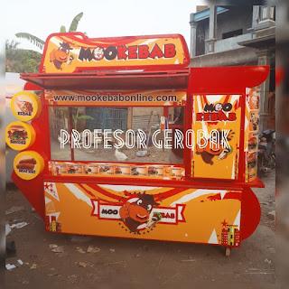 model gerobak kebab