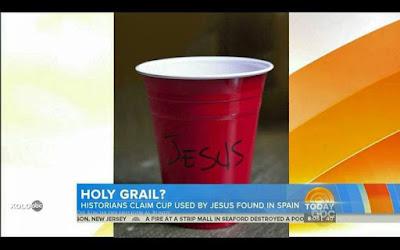 Spaßbilder Kirche - Glaube an den heiligen Gral lustig - Jesus Zeichen