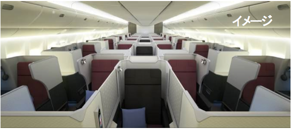 JAL's new SKY SUITE cabin