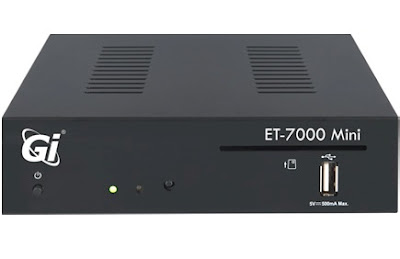Galaxy Innovations ET-7000 MINI تقديم الجهاز  vu+ zero  OPENATV 5.3 enigma2