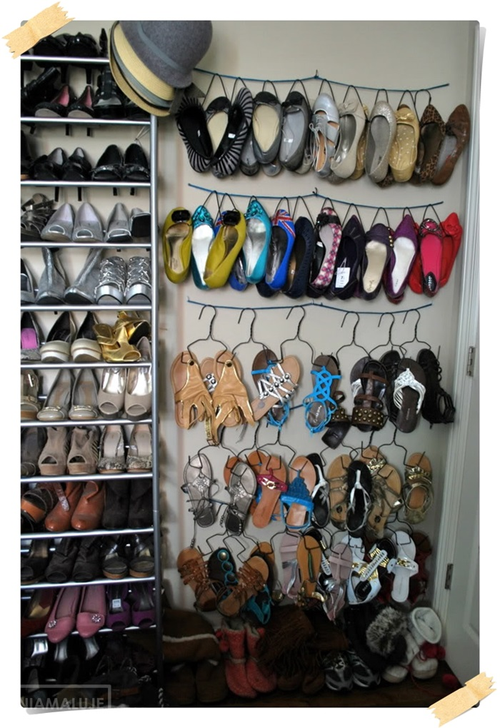 diy shoes organizer