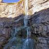 Боковой водопад в каньоне