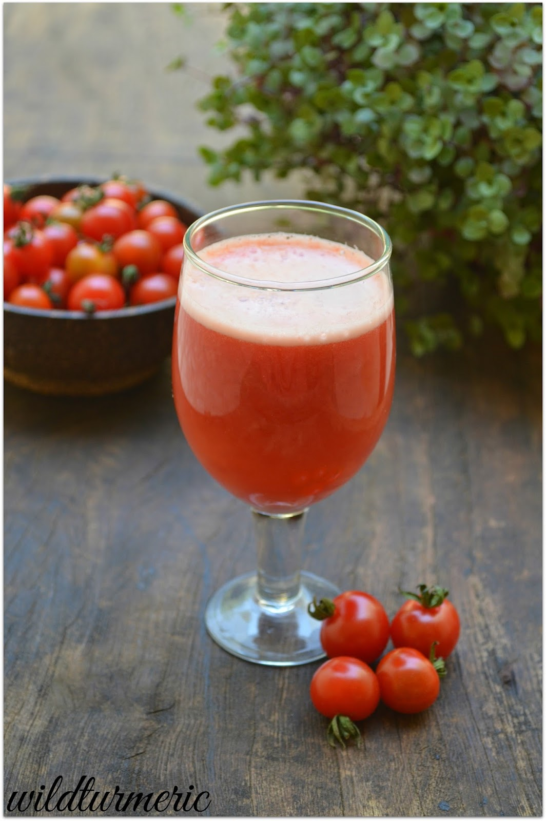 how to make tomato juice from tomatoes