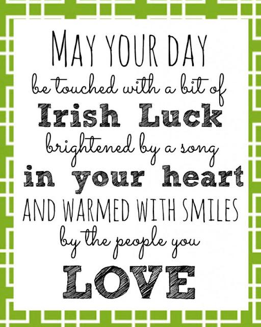 St Patrick's  Facebook status