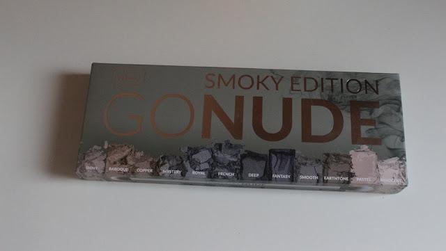 Wibo, paletka Smoky Edition GONUDE (swatche + makijaż)