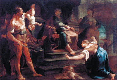 פאול טרוגר, משפט שלמה , מוזיאון זלצבורג
