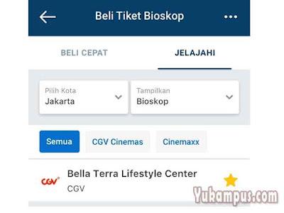 beli tiket bioskop traveloka