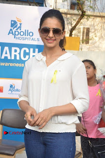 Actress Rakul Preet Singh at Endometriosis Awareness Walk at Apollo Cradle  0021.jpg