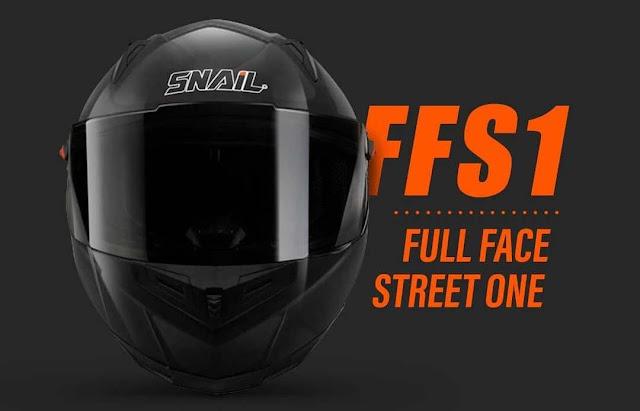 Spesifikasi dan Harga Helm Snail FFS1 Terbaru, Cocok Buat Harian, Sunmori, dan Touring
