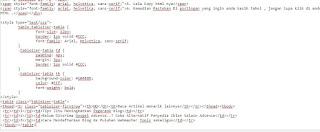 Cara Membuat tabel di blog dengan Microsoft Excel