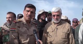 قائد عمليات تحرير الموصل : اقف اجلالا واكباراً لما قدمه الحشد الشعبي من ملاحم وانتصارات