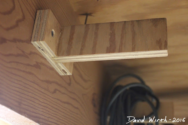 hang from ceiling, rafter hook, make joist hanger